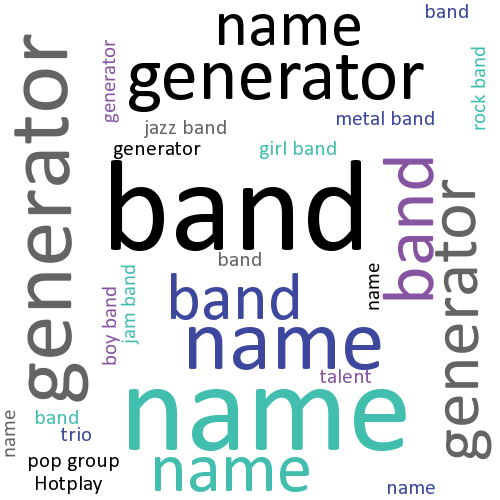 Band Name Generator